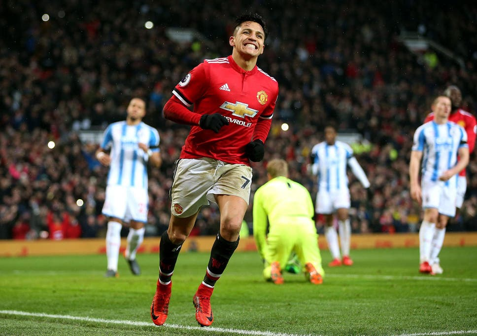 5d761ab7e Alexis Sanchez missed his initial penalty attempt but followed it up with a  first goal for