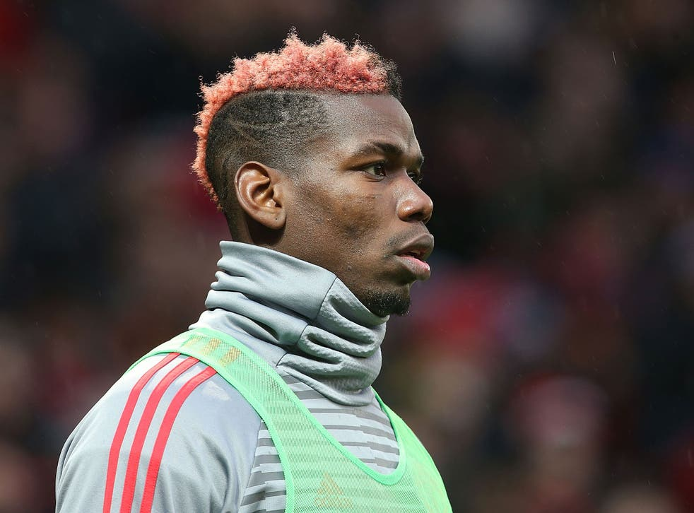 Pogba was benched against Huddersfield Town