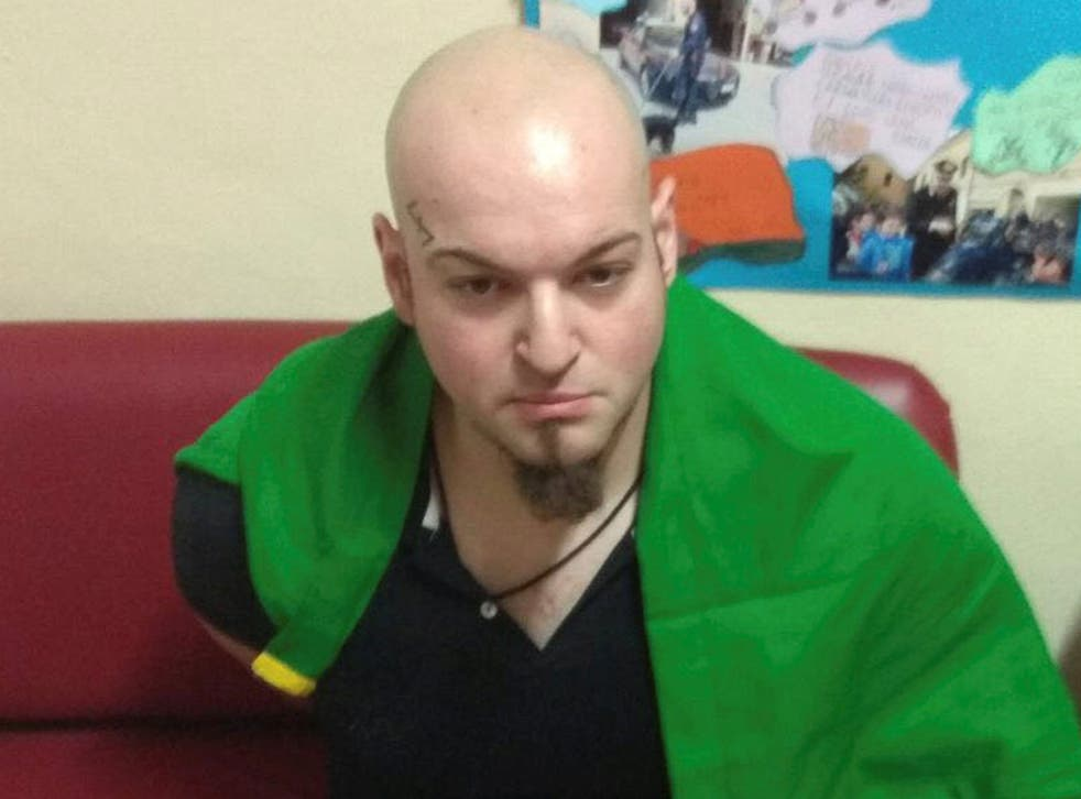Luca Traini, 28, who police suspect of opening fire on African migrants