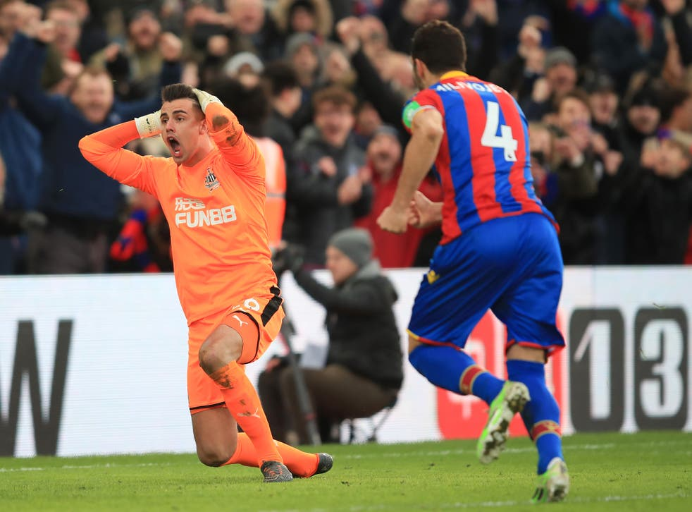 Luka Milivojević rescued a point for Palace