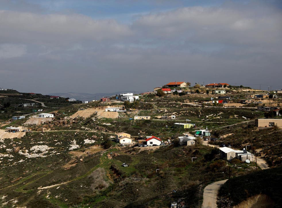 Benjamin Netanyahu says the decision to retroactively authorise the 50-family outpost of Havat Gilad was designed to 'allow the continuation of normal life there'