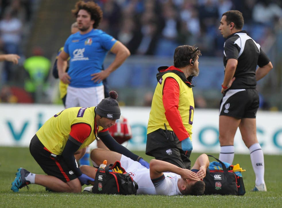 Ben Youngs suffered a knee injury in the Six Nations victory over Italy