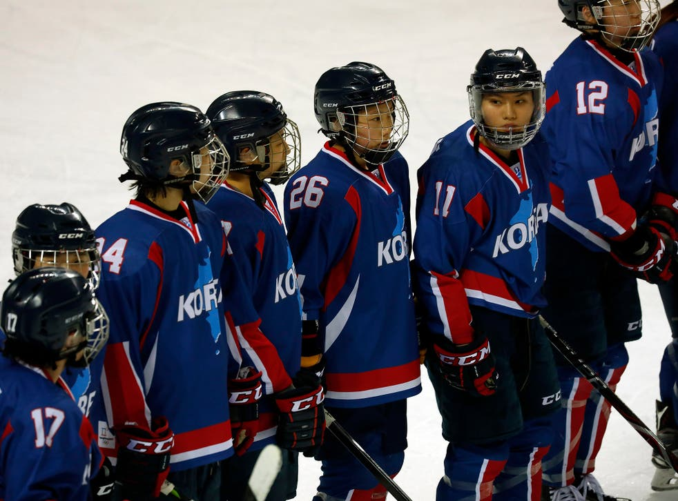 When North met South: Team Korea in action against Sweden
