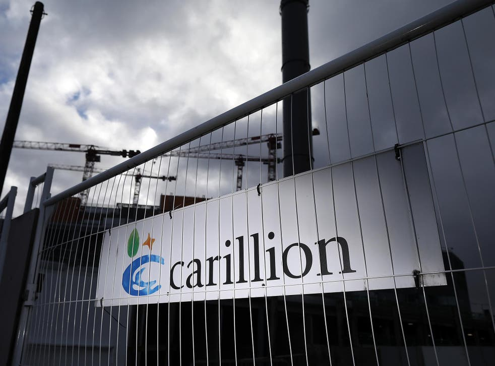 A total of 989 jobs have been lost since since Carillion's collapse