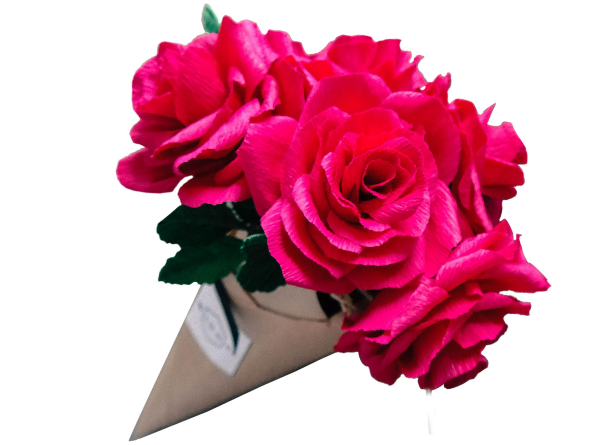 10 best artificial flowers the independent wild hive paper valentines roses 15 for one 85 for six wild hive izmirmasajfo