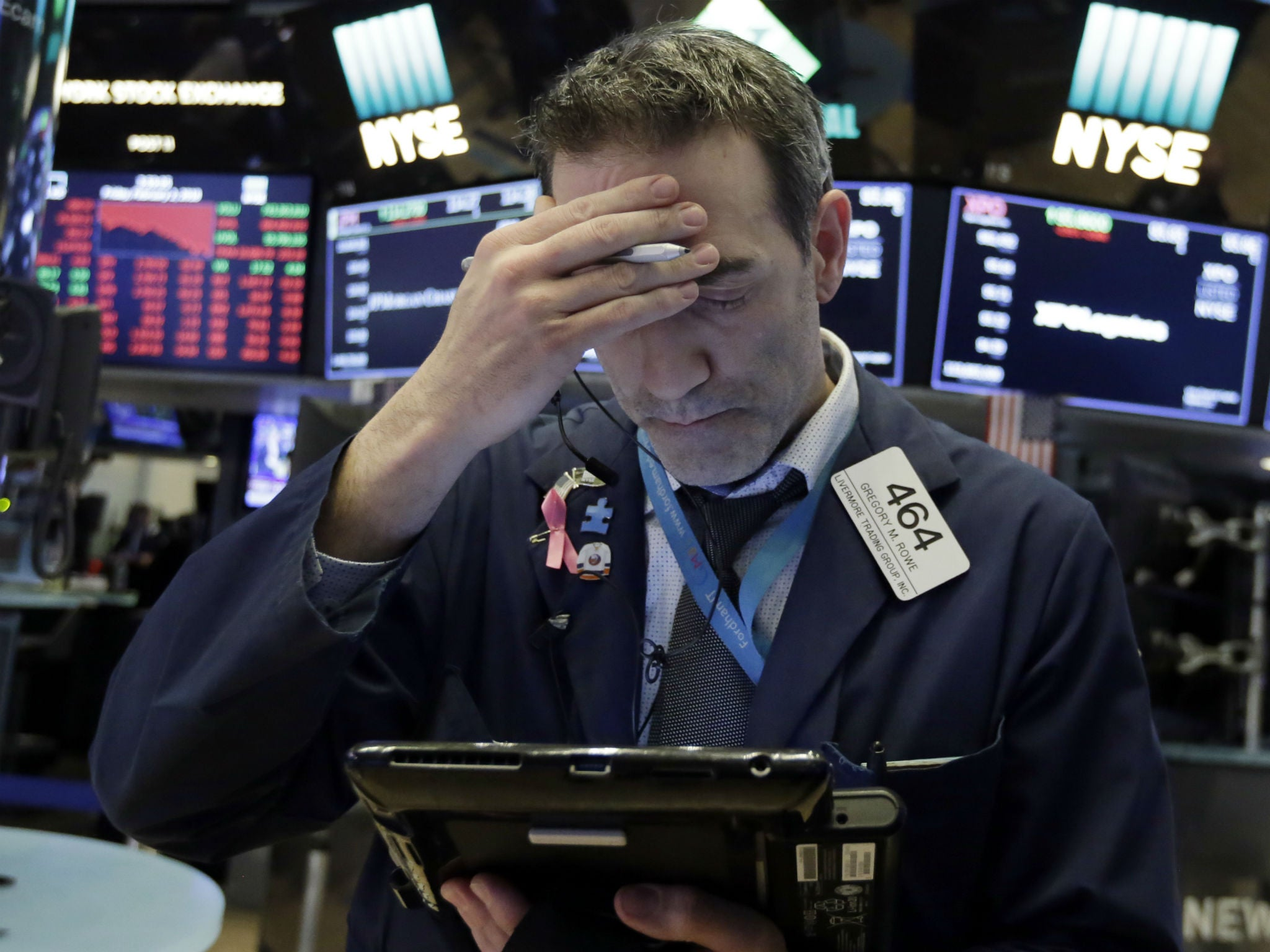 Dow Jones hit by biggest single-day points drop ever | The
