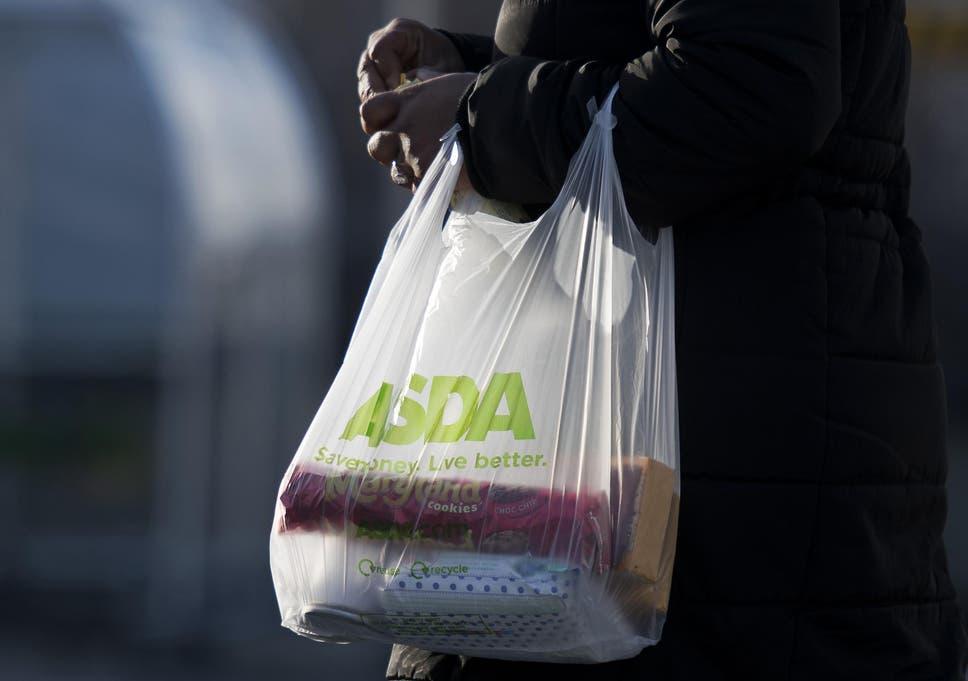 Asda Bans Single Use Bags In Blitz Aimed At Cutting 10 Per