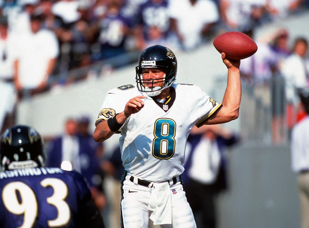 Mark Brunell spent eight years at the Jacksonville Jaguars before later joining the New Orleans Saints