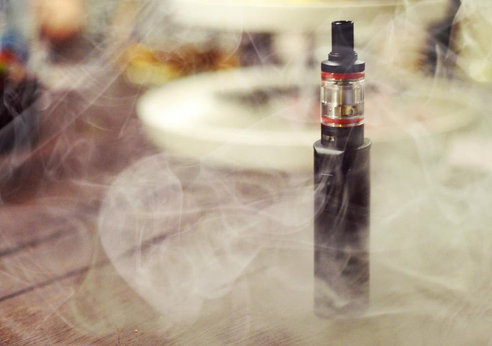 E-cigarette users are accidentally smoking concentrated food