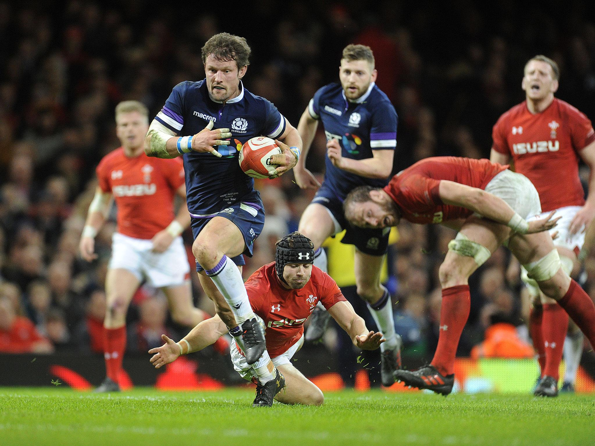 Peter Horne confident Scotland will bounce back against France after defeat in Wales