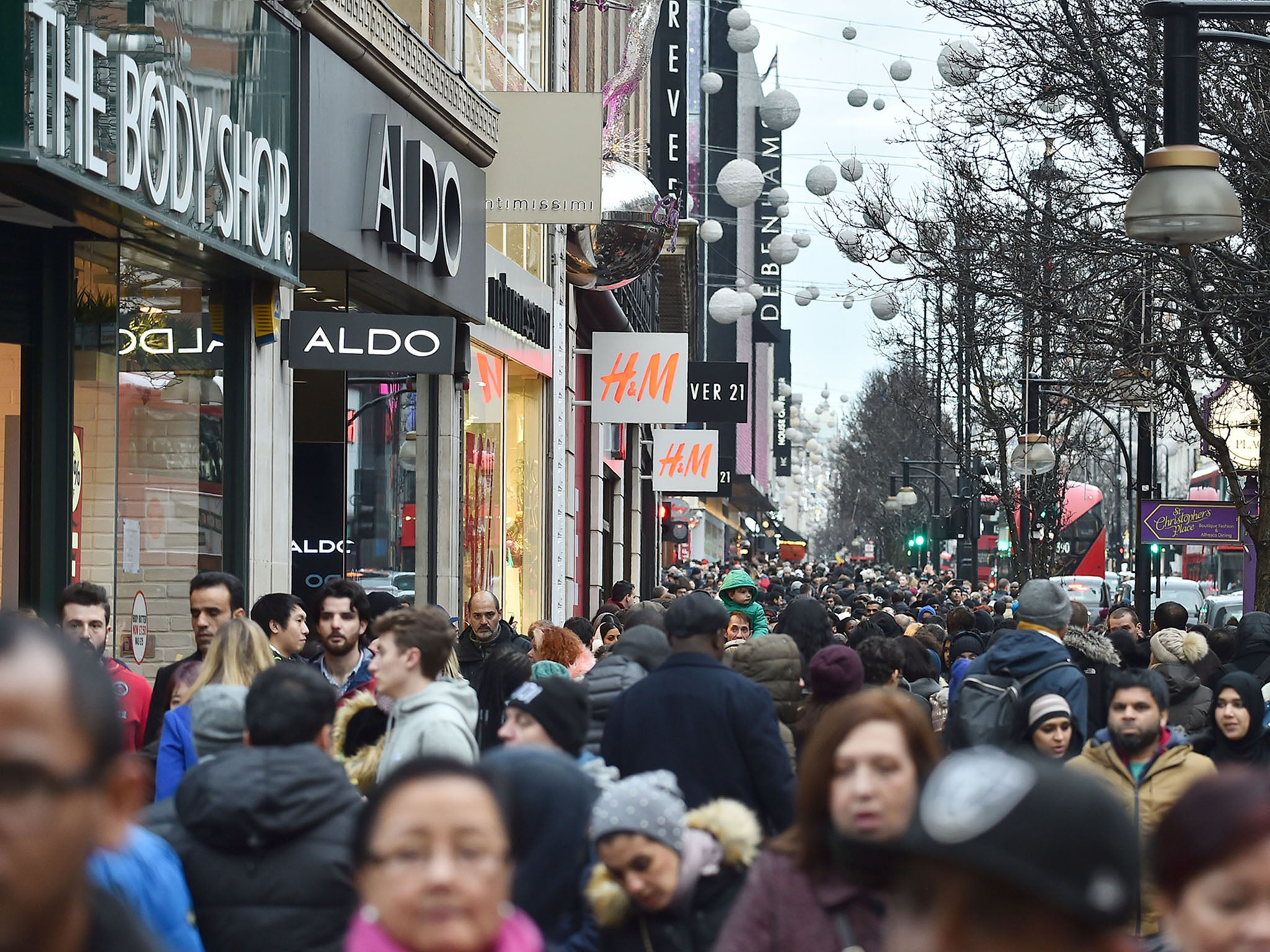 Retail footfall slumped in January as inflation-pinched consumers remain cash conscious