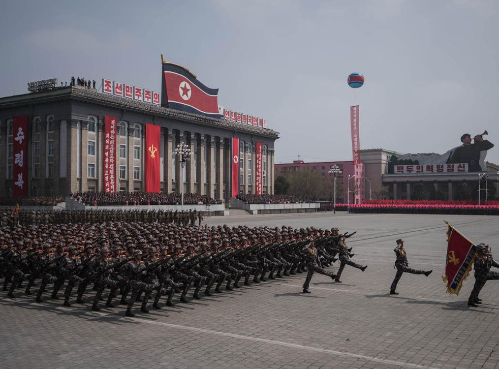 Ostentatious displays of military might are common in authoritarian states such as North Korea