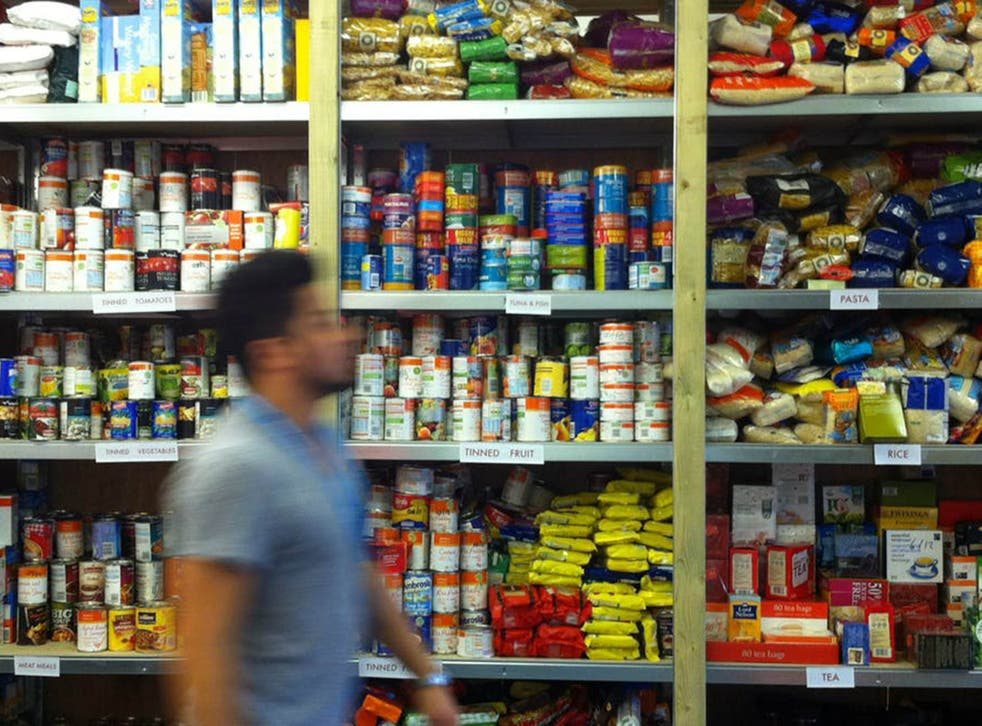 The Trussell Trust said it provided nearly 160,000 three-day emergency food supplies in December last year, a 49 per cent increase for the monthly average for the 2017/18 financial year