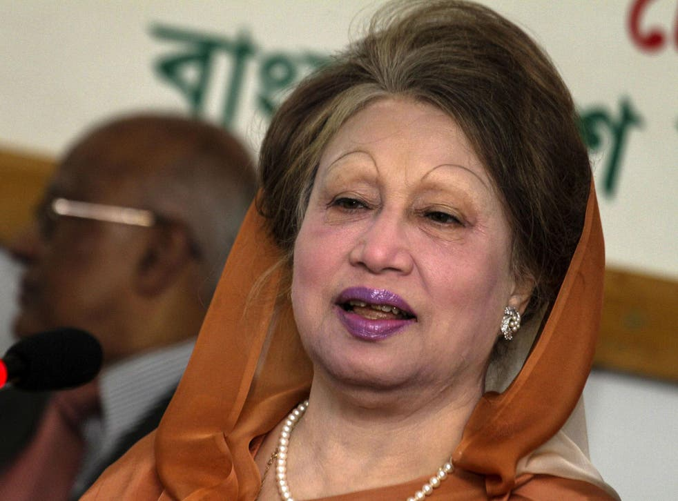 Khaleda Zia, who was Prime Minister of Bangladesh from 1991-1996, and again from 2001-2006, was convicted of embezzling money from donations meant for an orphanage trust