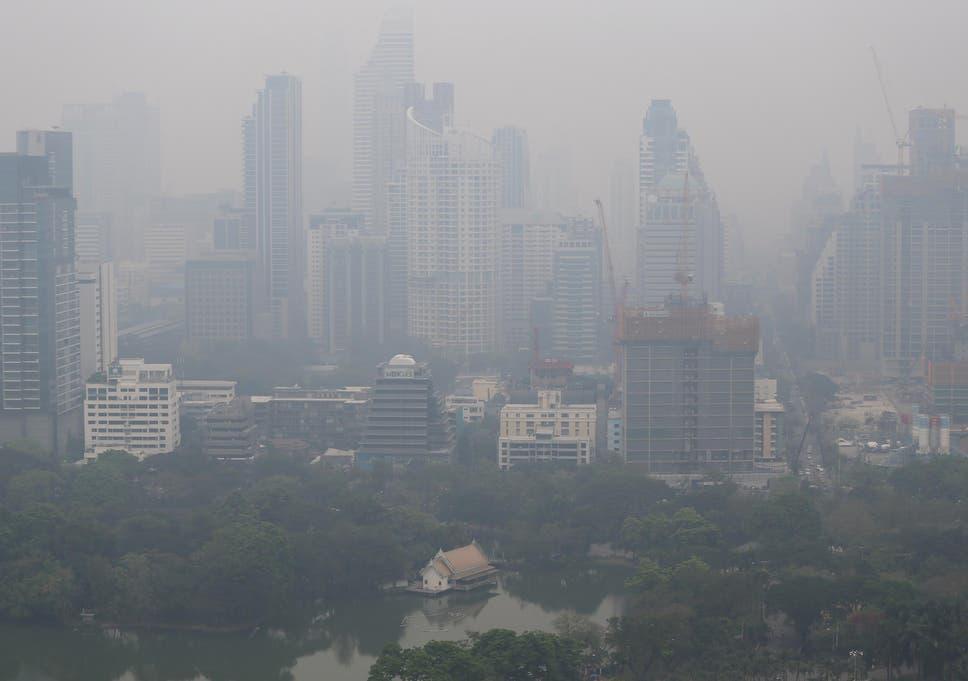 Bangkok S School Children Kept Indoors As Thai Capital Blanketed In
