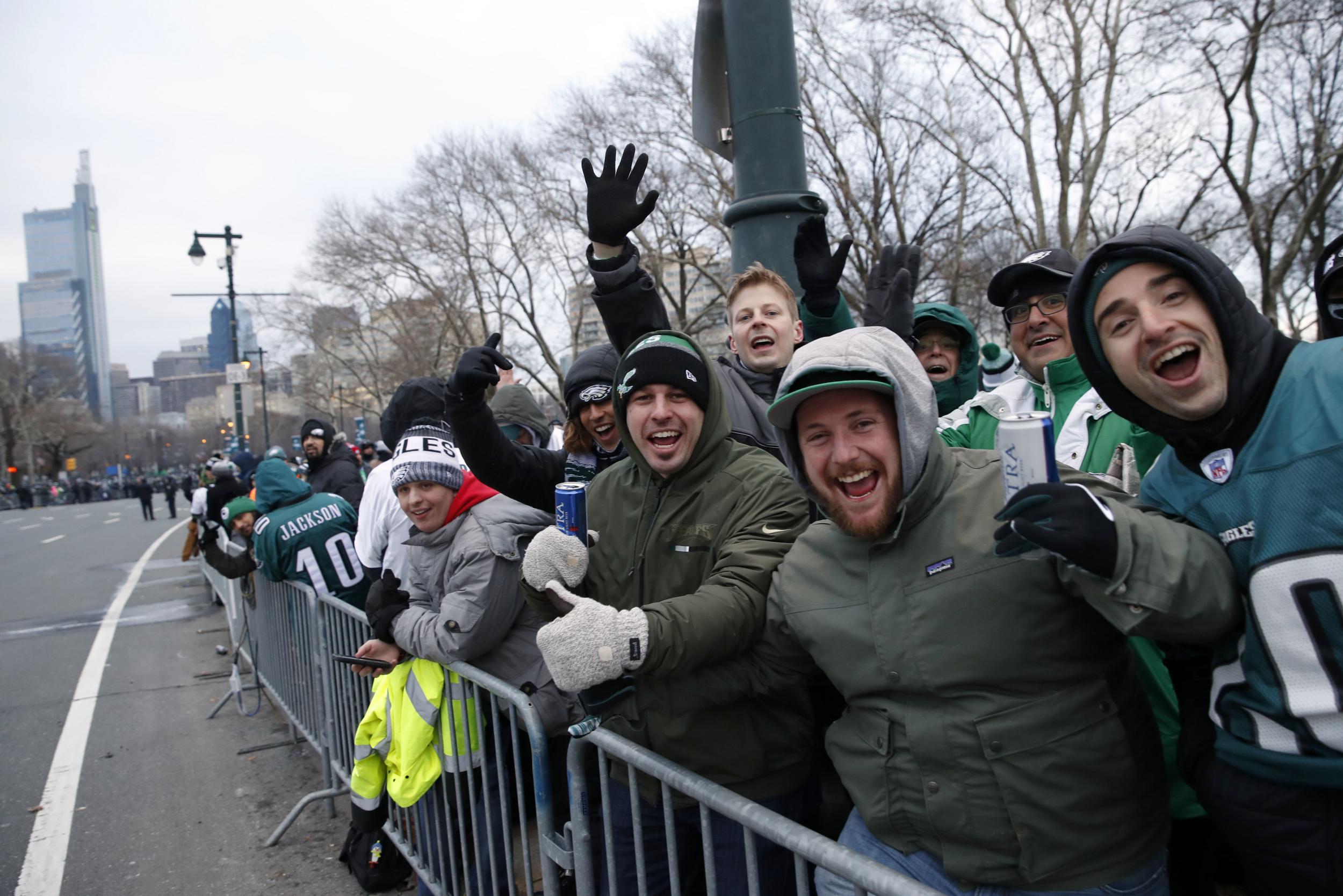 philadelphia eagles parade fans crowd frigid streets to NFL Philadelphia Eagles Logo Printable Philadelphia Eagles Logo EPS