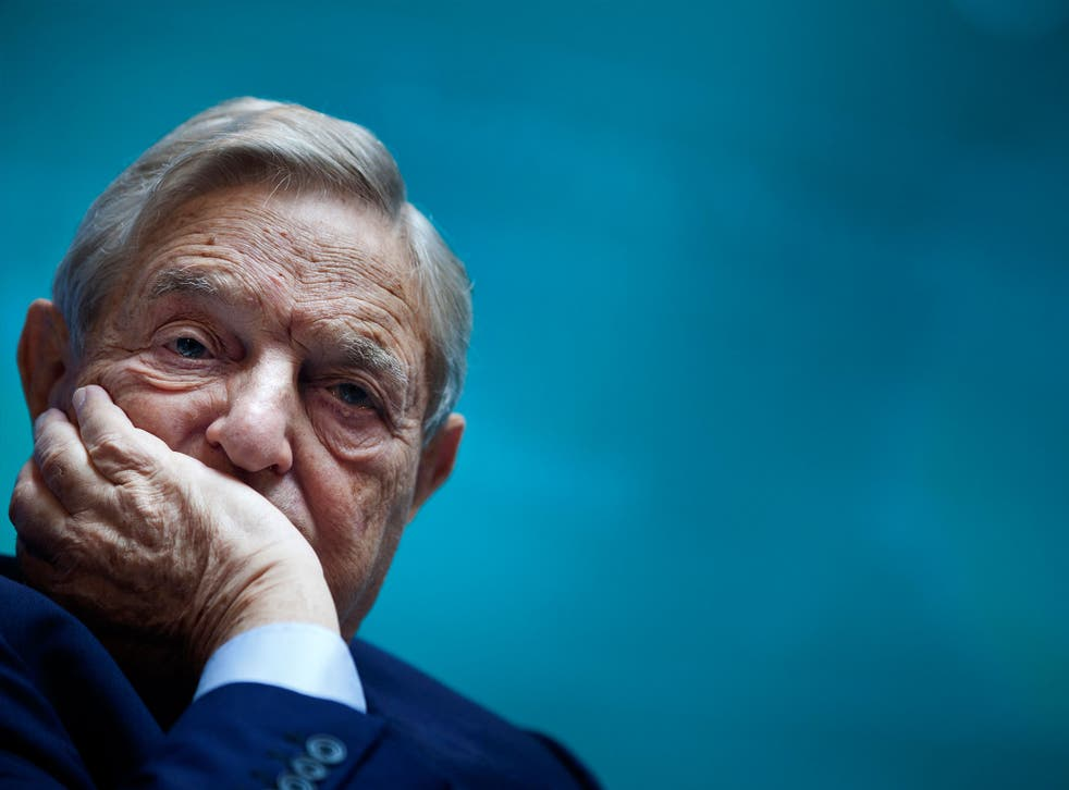 George Soros seemed to have become the conspiracy theorist's target of choice