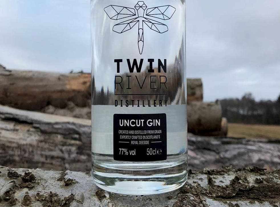 The gin is said to have a creamy nutty scent and taste of heavy juniper with a sweet spiciness