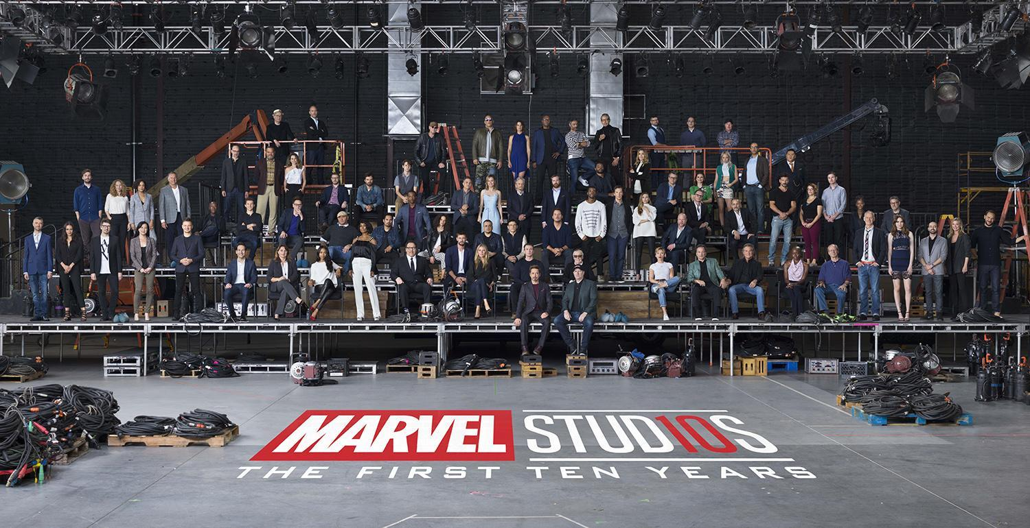 Marvel Studios brought 80 actors and directors together for a huge 10-year celebration photo