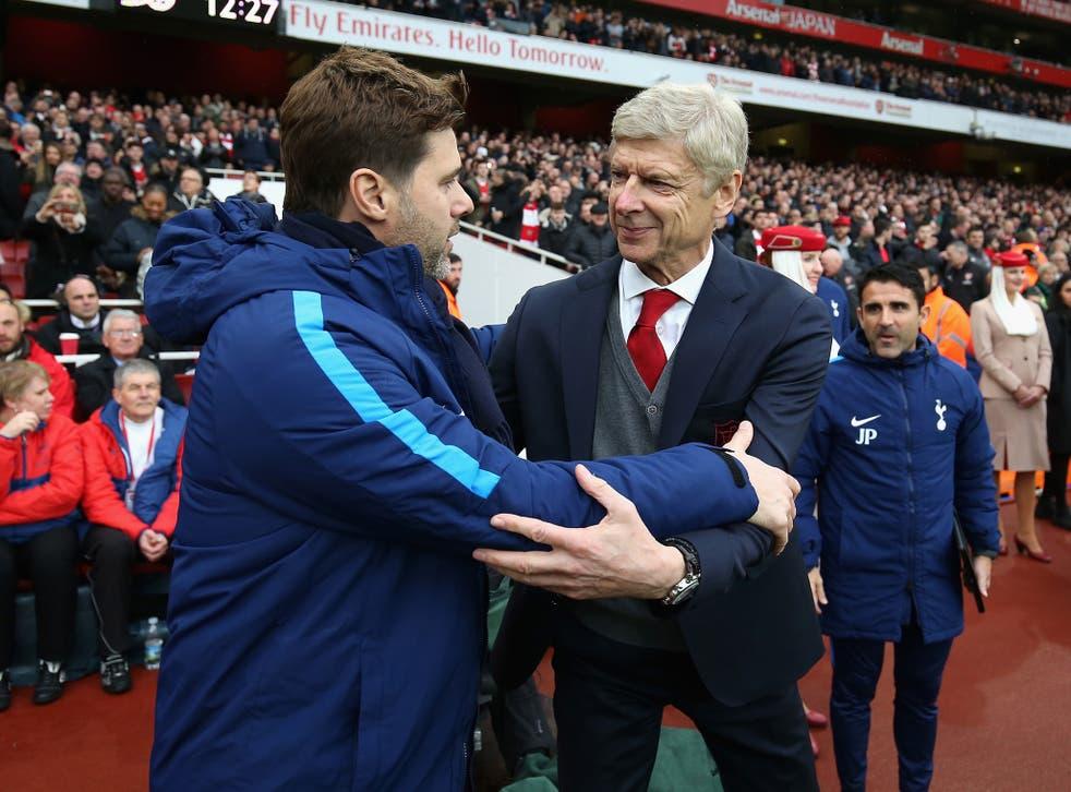 Mauricio Pochettino and Arsene Wenger go head to head this weekend