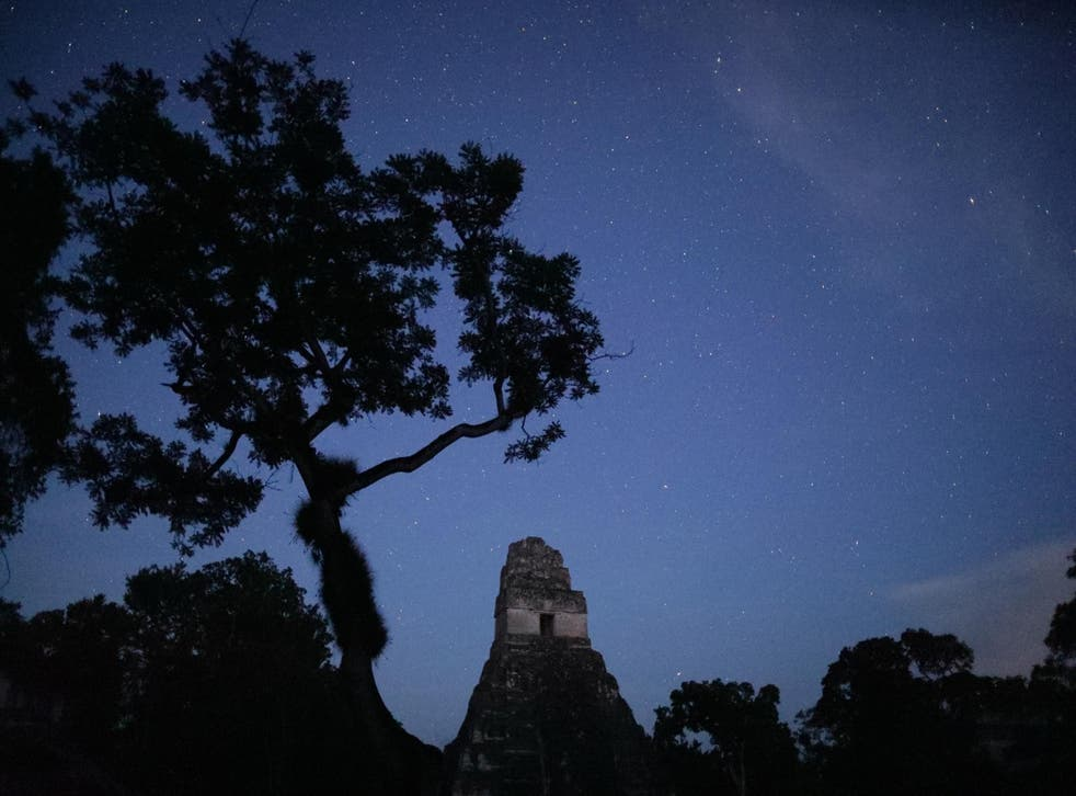 New dawn: LiDAR has been deployed to discover much more about the Maya people (Ali May/Wild Blue Media)