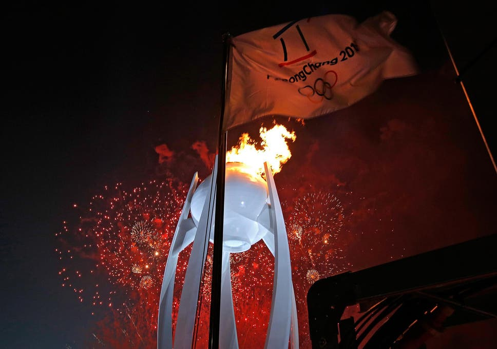 The Fiery Optics Of Pyeongchangs Opening Ceremony Provide Olympic