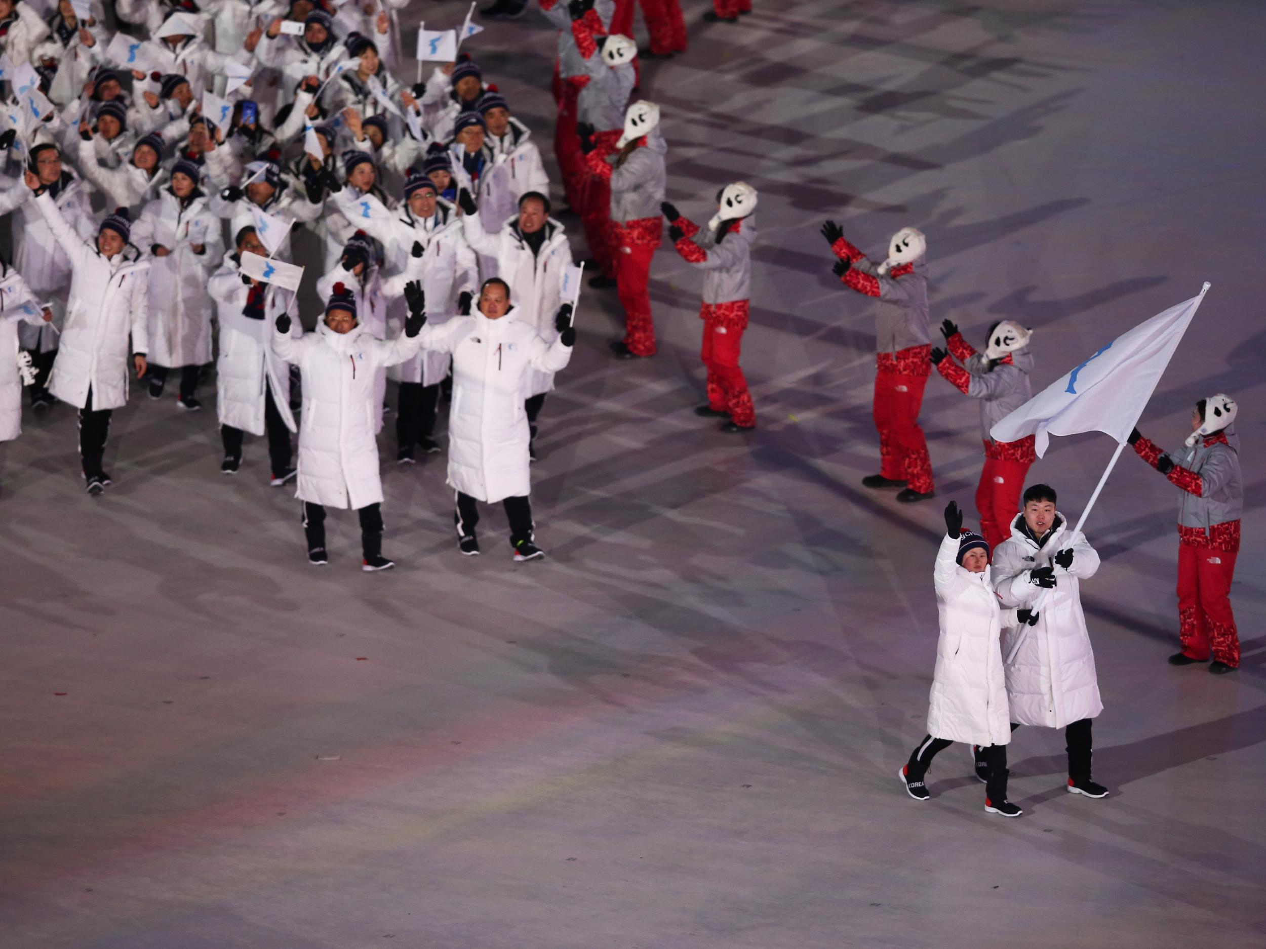Winter Olympics officials say opening ceremony suffered cyber attack