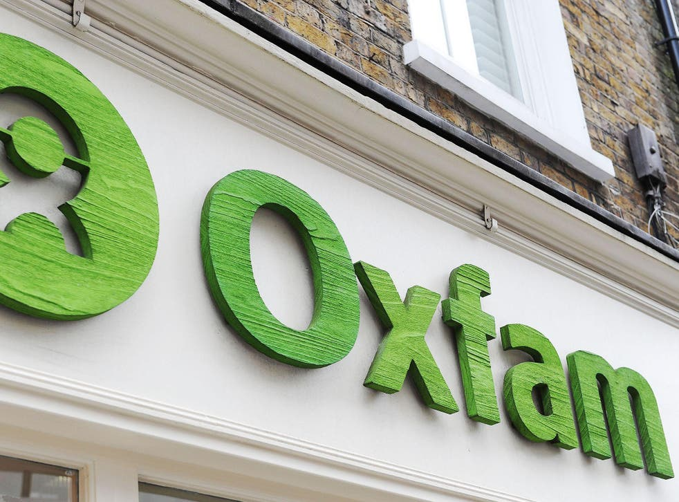 Oxfam has been accused of a cover up
