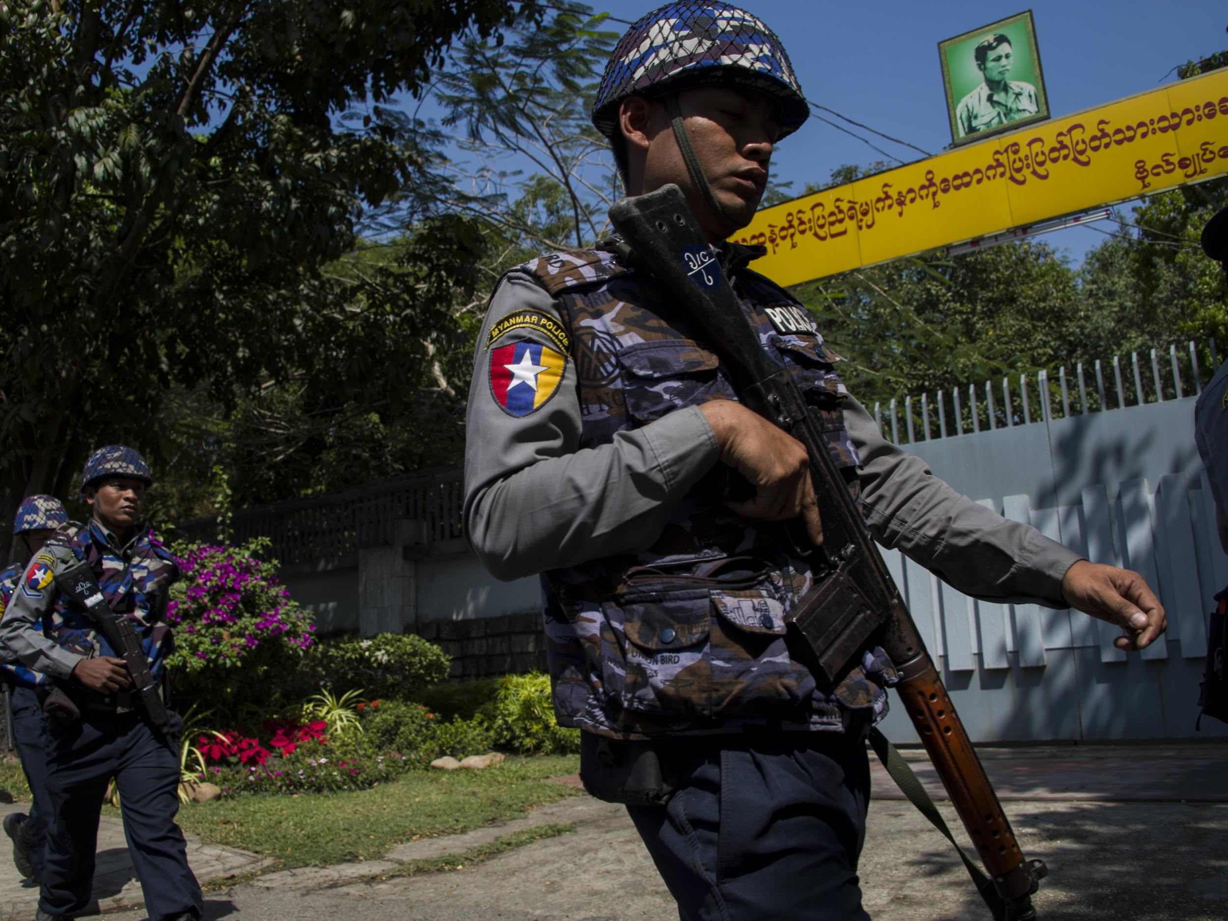 Myanmar vows action against security forces who killed Rohingya Muslim prisoners