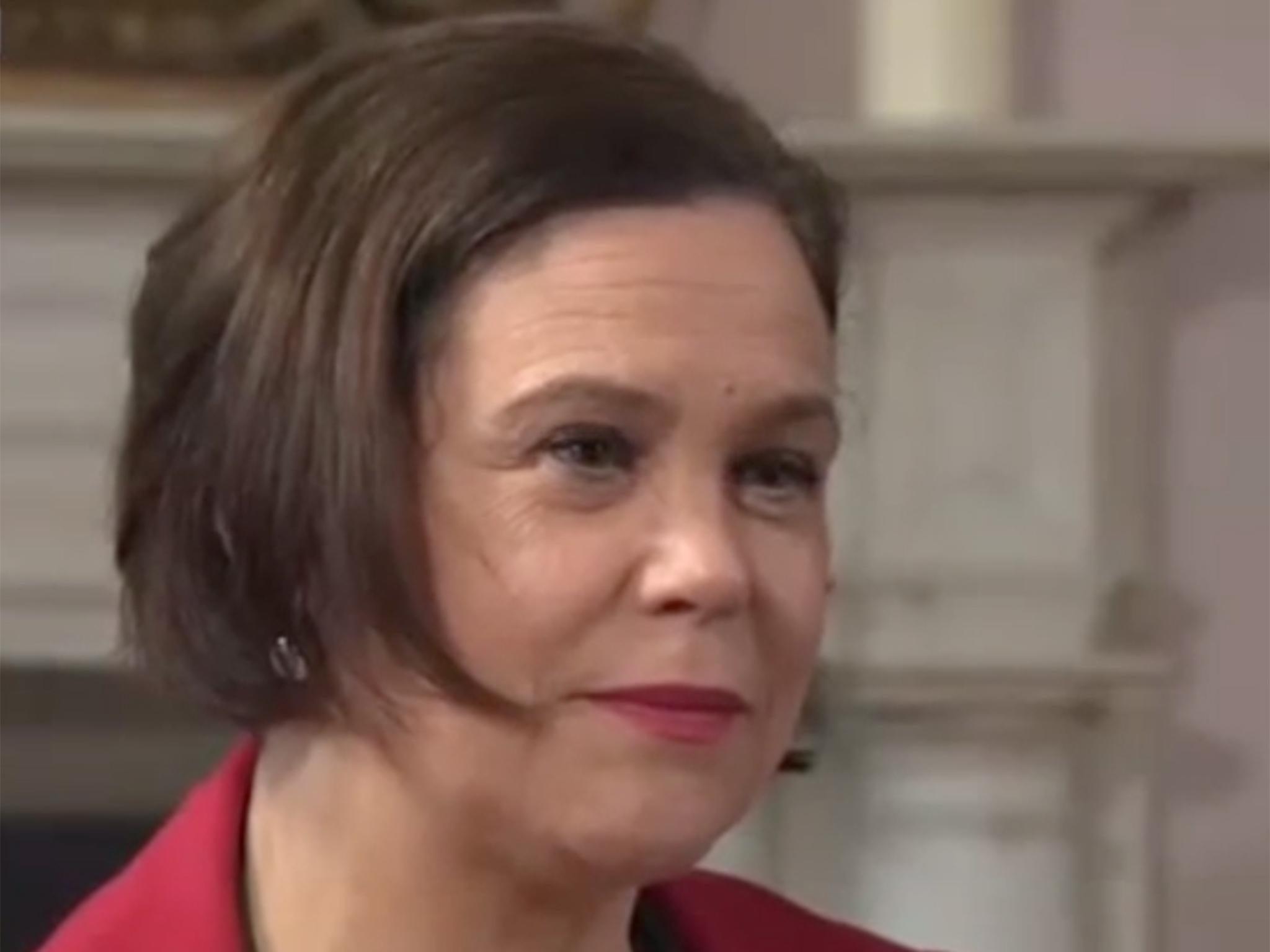 New Sinn Fein leader Mary Lou McDonald calls Irish Prime Minister Leo Varadkar 'smarmy'