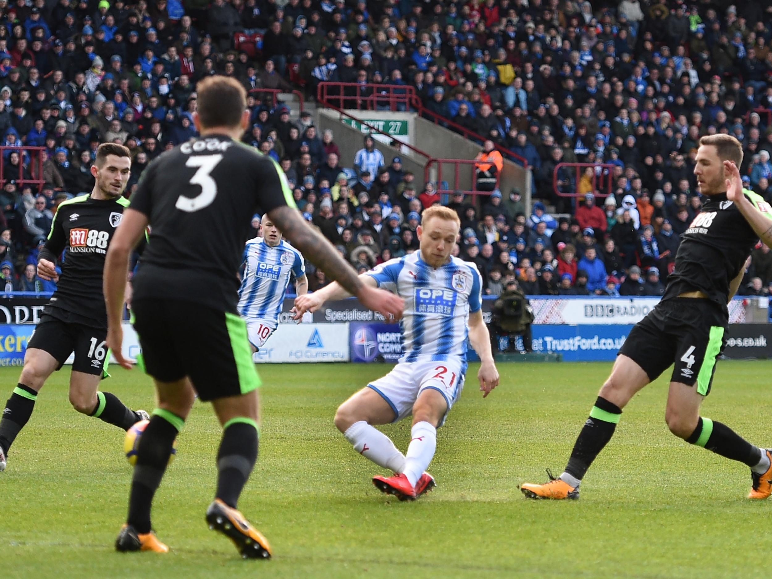 Huddersfield Town vs Bournemouth - as it happened: Steve Mounie double gives hosts win