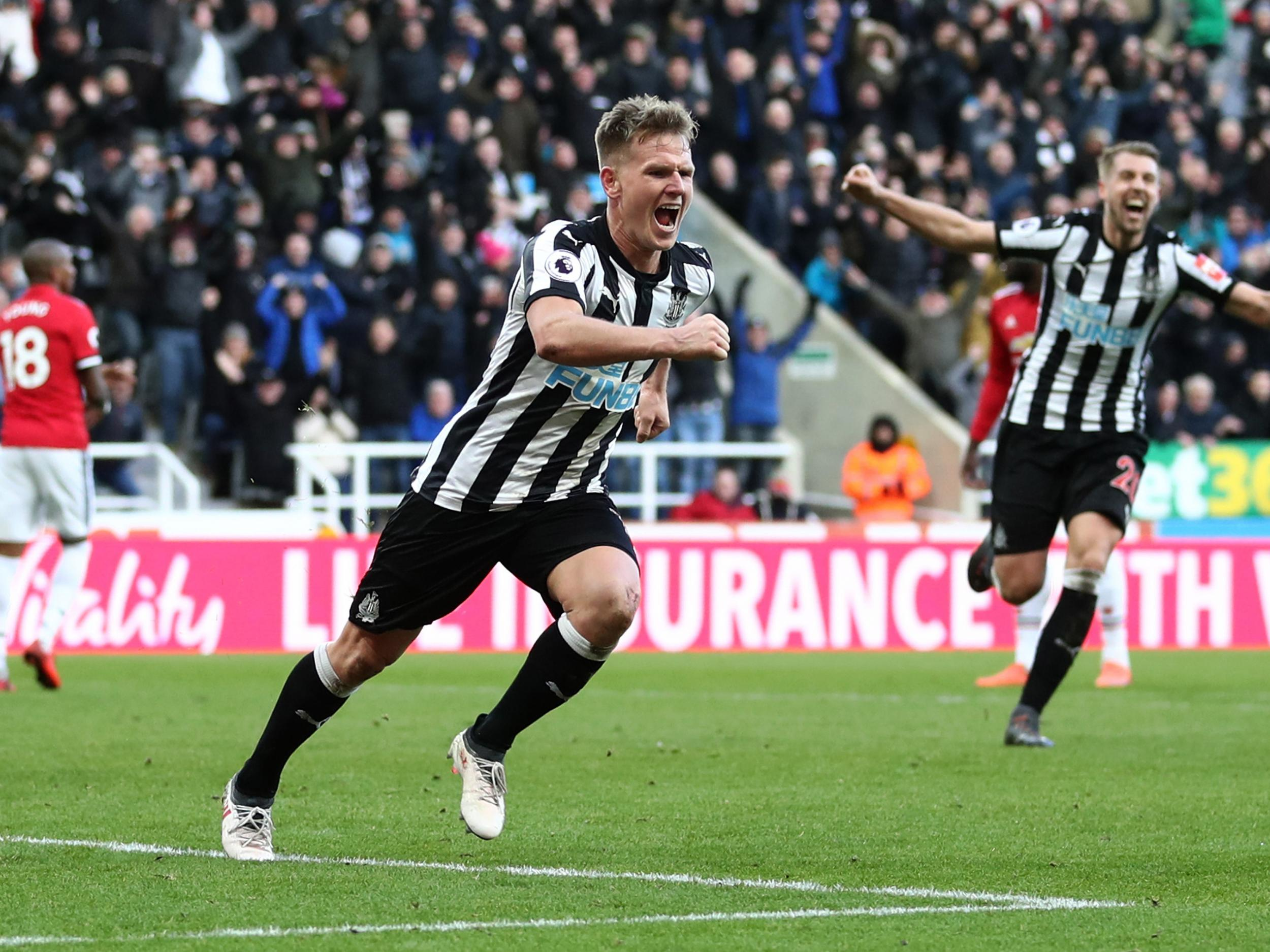 Newcastle United blunt Manchester United's attack to earn three crucial points in fight against relegation