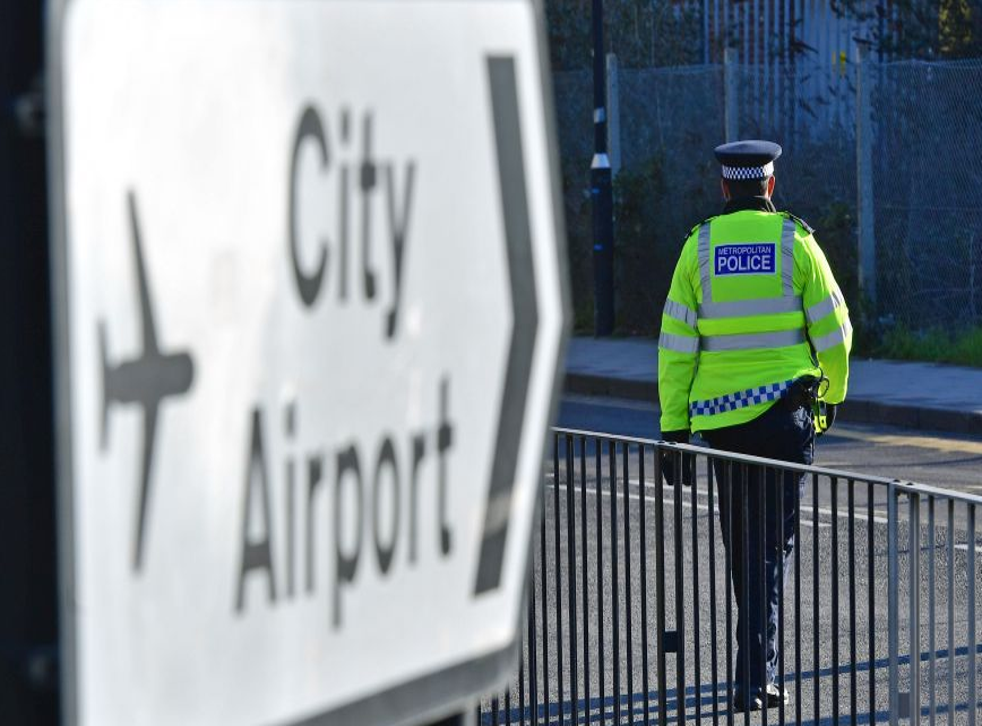 Planes have been grounded at London City Airport