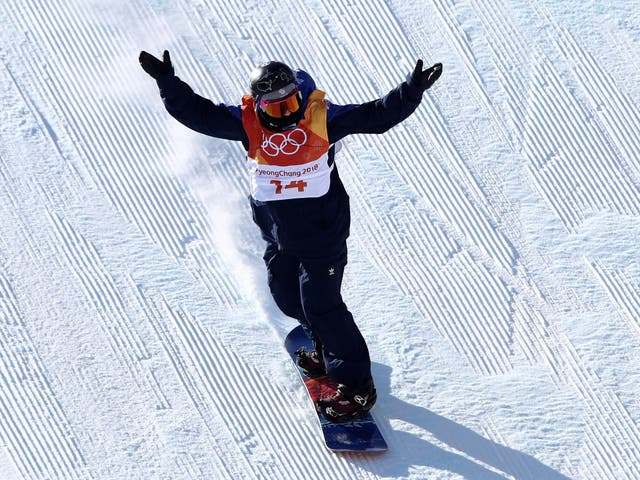 Fuller finished 17th in the snowboard slopestyle