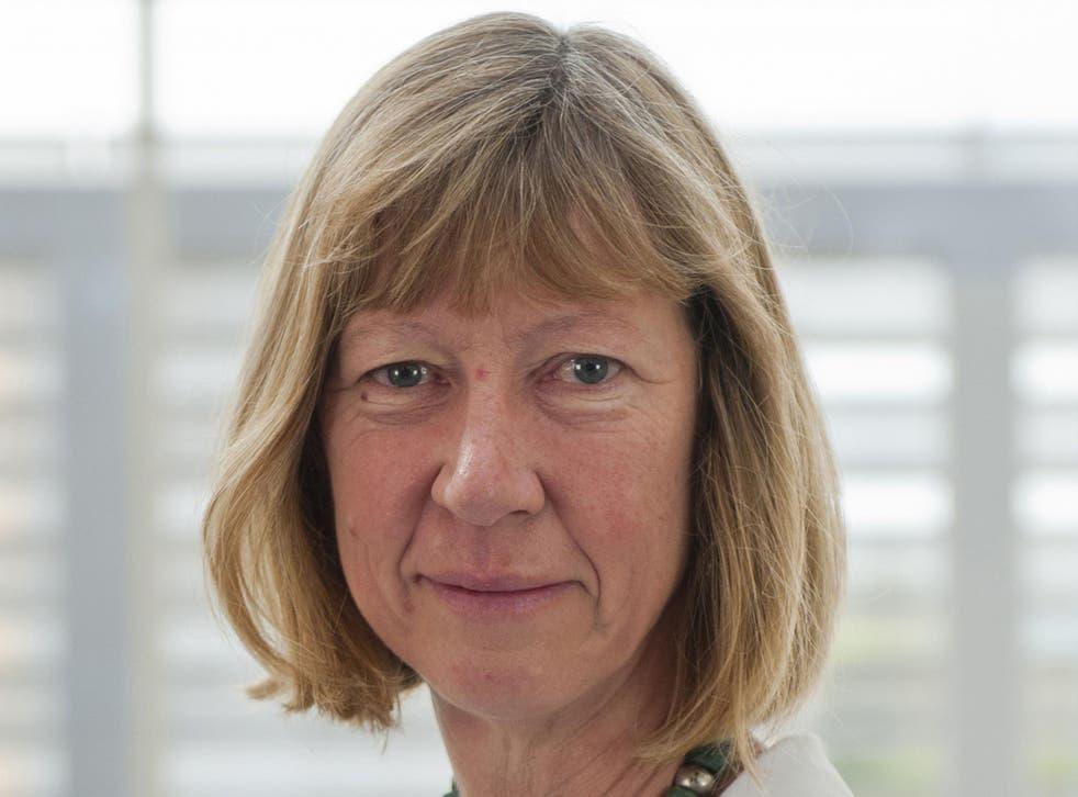 Oxfam deputy chief executive Penny Lawrence