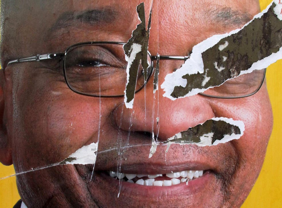 Jacob Zuma has been recalled by the ANC