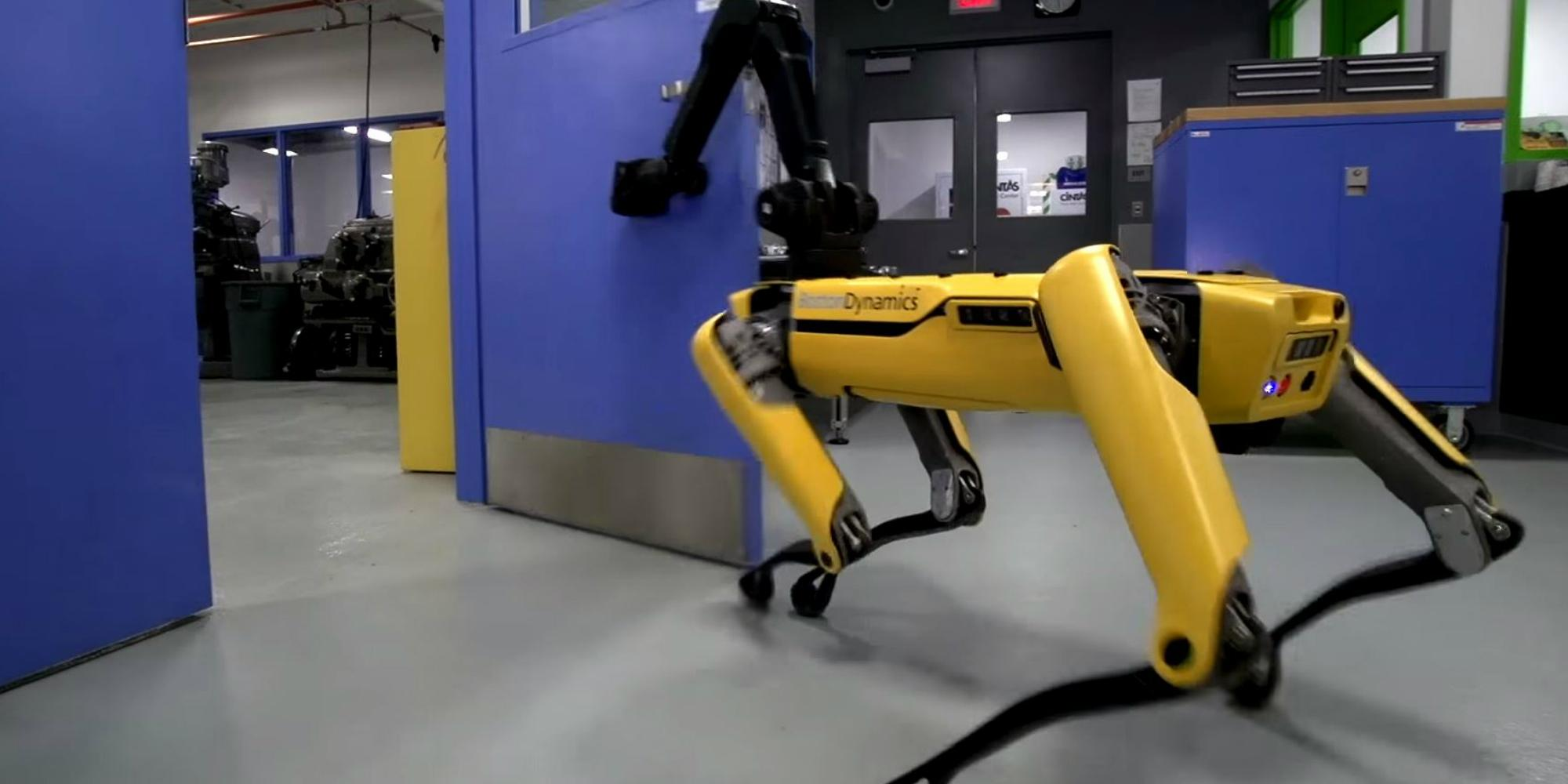 A Boston Dynamics Robot Learned A New Trick And People Are Terrified