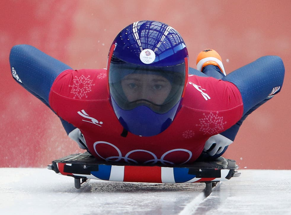 Yarnold is one of the favourites for gold in the skeleton this weekend