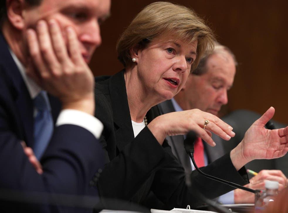 Kevin Nicholson is attempting to unseat Democrat Senator Tammy Baldwin