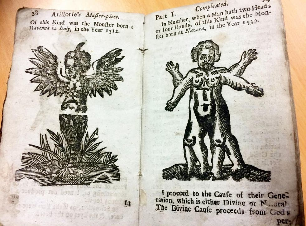 Pages from the sex manual from 1720