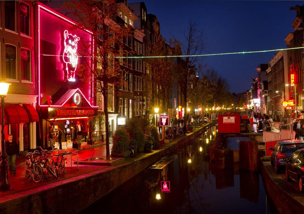 where are the red light districts in amsterdam