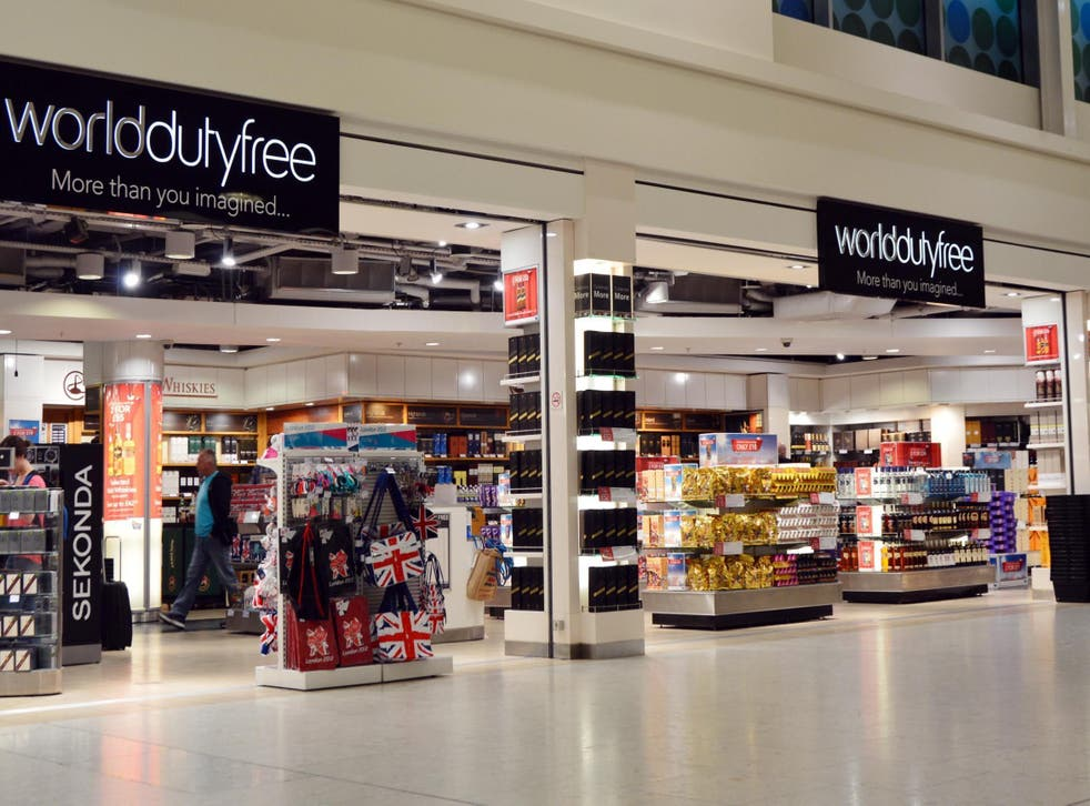 World Duty Free at Heathrow Airport