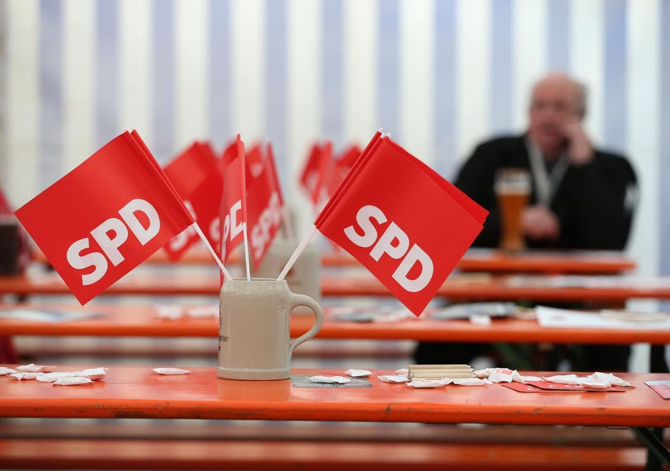 Germany's social democrats sink to new levels of unpopularity after