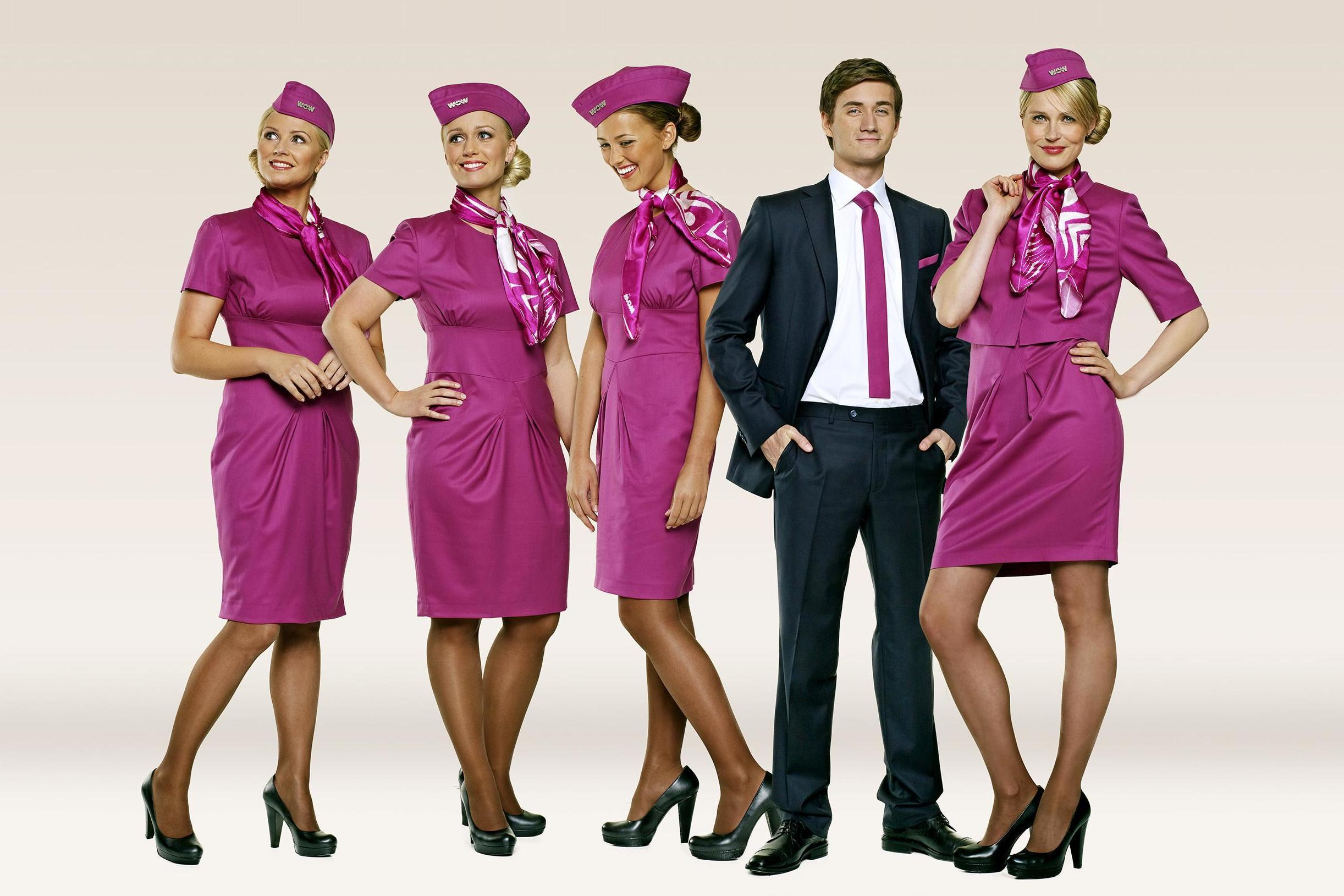 Airline hostess uniforms