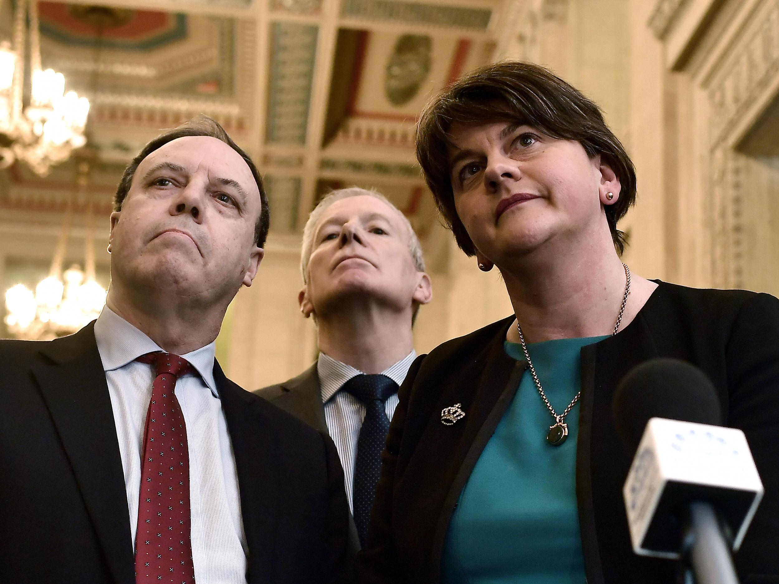 Northern Ireland latest: Arlene Foster says there is 'no prospect' of deal to restore Stormont government