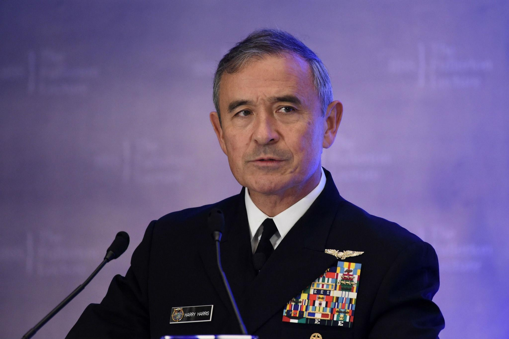 US will struggle to 'keep pace' with Chinese military if it does not invest, senior admiral warns