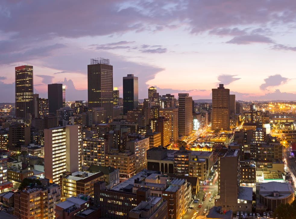 If you're looking for an illuminating adventure, Joburg could be just the ticket