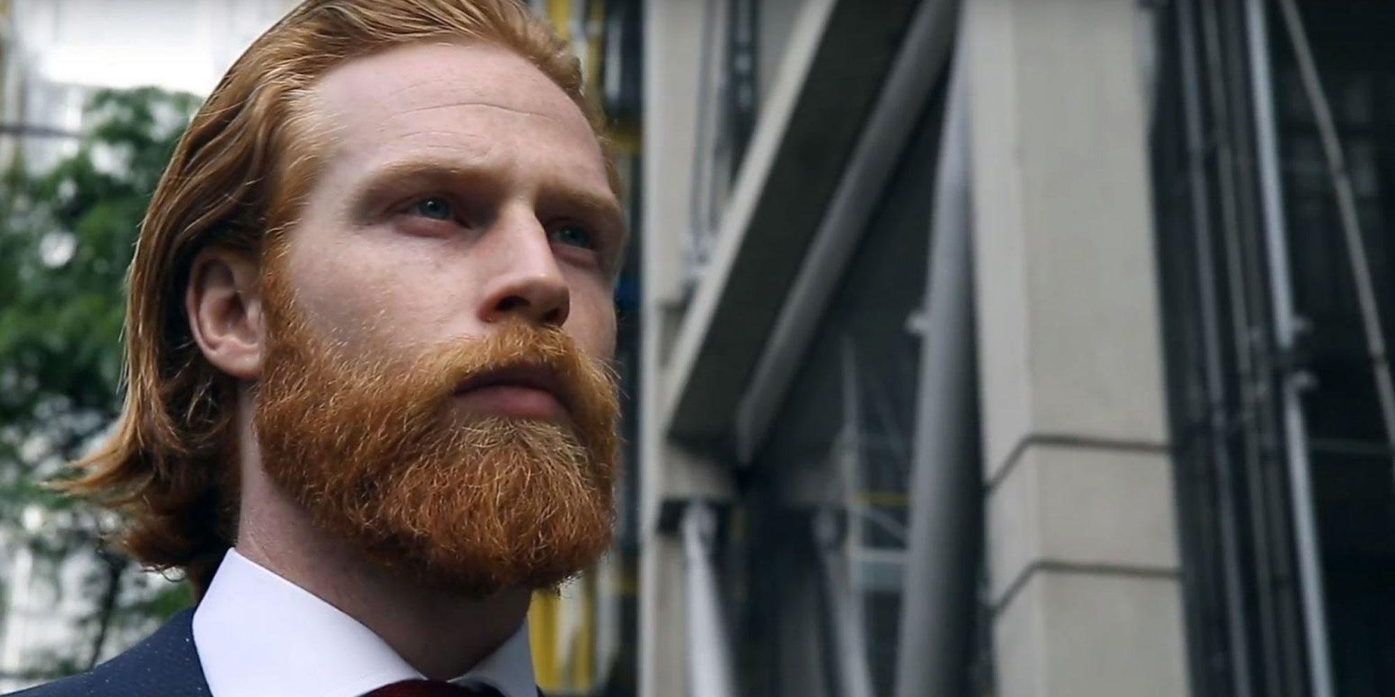 Excellent Man Grows Ginger Beard Becomes Gq Model Indy100 Natural Hairstyles Runnerswayorg