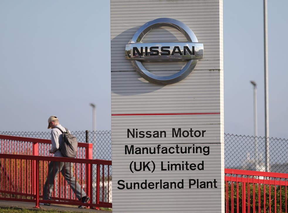 Nissan employs about 8,000 people in the UK, mostly at its Sunderland plant