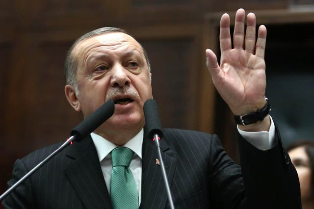 'As Turkey slips deeper into dictatorship, the rule of law weakens every day'